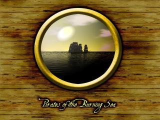 обои Pirates of the Burning Sea фото