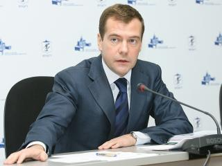обои Президент Медведев фото