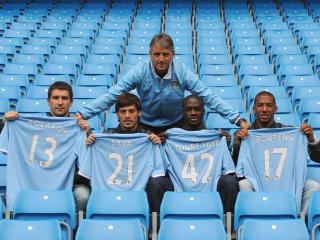 обои Футбольный клуб Манчестер Сити фото