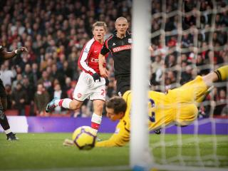 обои Арсенал против Сток Сити фото