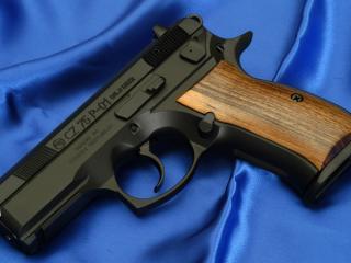 обои Пистолет чз-75,   п-01,   чехия,   9-мм фото