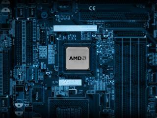обои Плата процессор amd фото