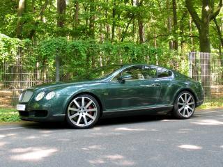 обои MTM Bentley Continental GT Birkin Edition 2006 зеленая фото