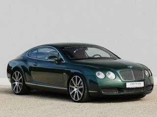 обои MTM Bentley Continental GT Birkin Edition 2006 передок фото