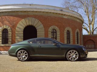 обои MTM Bentley Continental GT Birkin Edition 2006 сбоку фото
