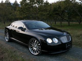 обои WALD Bentley Continental GT 2006 фары фото