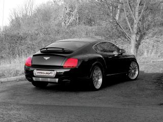 обои Project Kahn Bentley Continental GT 2006 зад фото
