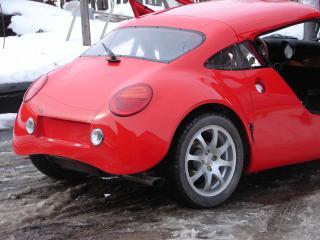 обои Pegas coupe L зад фото