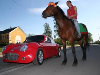 обои Pegas coupe L лошадь фото