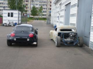 обои Pegas coupe S зад фото