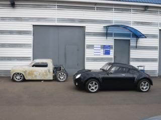 обои Pegas coupe S сбоку фото