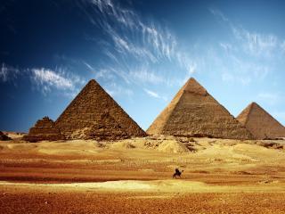 обои Пирамиды Египта фото