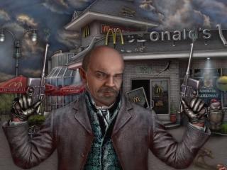 обои Ленин с маузерами фото