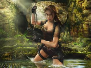 обои Tomb Raider Legend фото