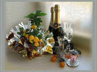 обои Шампанское и праздник фото