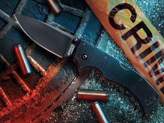 обои Нож и гильзы фото