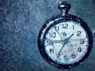 обои Часы в воде фото