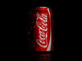 обои Банка кока-колы фото
