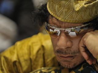 обои Ливийский лидер муаммар каддафи фото