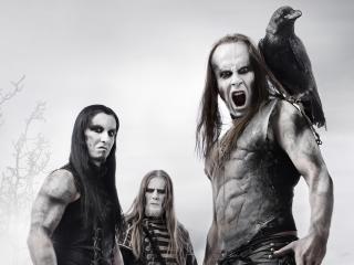 обои Три музыканта Behemoth фото