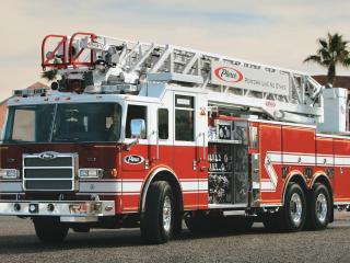 обои Пожарная машина Pierce arrow xt фото