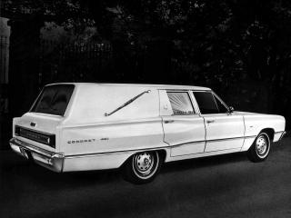 обои Dodge Coronet Hearse by Abbott & Hast 1967 бок фото