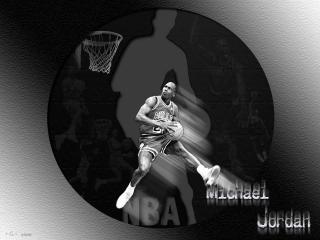 обои Баскетболист Michael Jordan фото