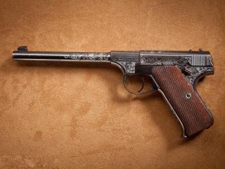 обои Colt с длинным стволом фото