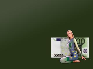 обои Девушка боди арт евро фото