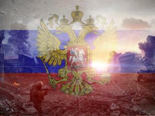 обои Росийский символ разрушителей фото
