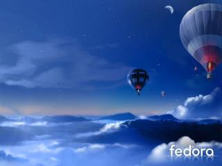 обои Fedora фото