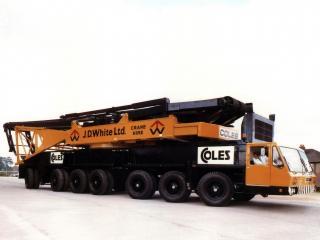 обои Coles Colossus 6000 Crane 1971 сбоку фото