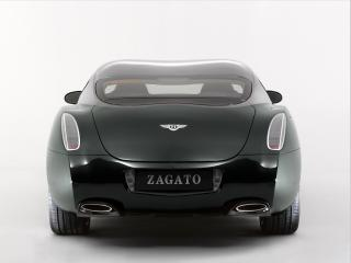 обои Bentley GTZ 2008 зад фото