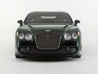 обои Bentley GTZ 2008 перед фото