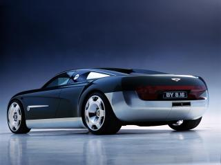 обои Bentley Hunaudieres Concept 1999 боком фото