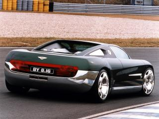 обои Bentley Hunaudieres Concept 1999 задок фото