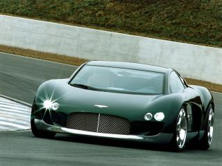 обои Bentley Hunaudieres Concept 1999 фары фото