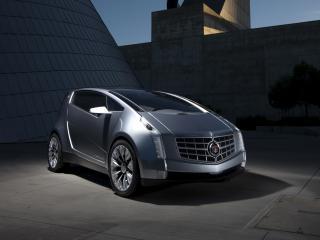 обои Cadillac Urban Luxury Concept 2010 капот фото