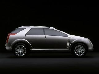 обои Cadillac Vizon Concept 2001 бок фото