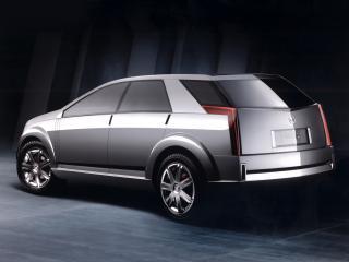 обои Cadillac Vizon Concept 2001 боком фото