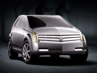обои Cadillac Vizon Concept 2001 перед фото
