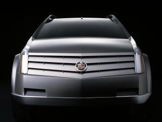 обои Cadillac Vizon Concept 2001 спереди фото