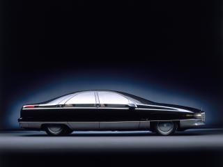 обои Cadillac Voyage Concept 1988 бок фото