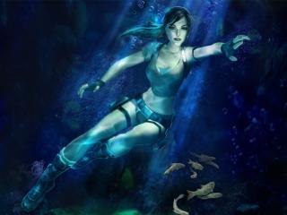 обои Tomb Raider Legend фото
