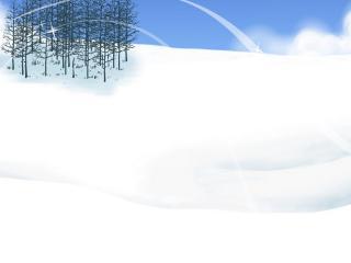 обои Сверкание снега  в солнечных лучах фото