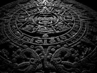 обои Календарь Майя на камне фото