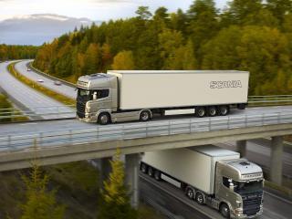 обои Грузовики Scania r620 фото