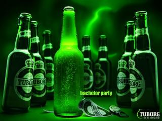 обои Tuborg Green Beer фото