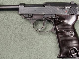 обои Walther-p38,   немецкий самозарядный пистолет калибра 9 мм,   вальтер фото