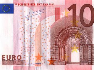 обои Банкнота 10 евро фото